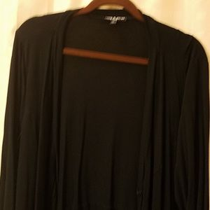 Plus size 1X black jacket with buttons